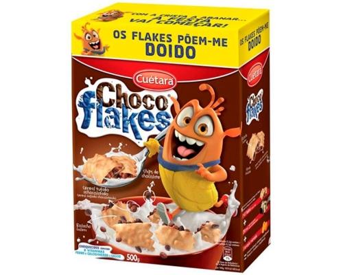 Bolachas Choco Flakes Cuétara 500 Gr