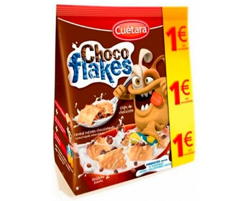 Bolachas Choco Flakes Cuétara 130 Gr