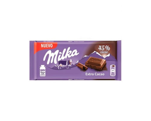 Chocolate Cacao Extra Milka 100 Gr