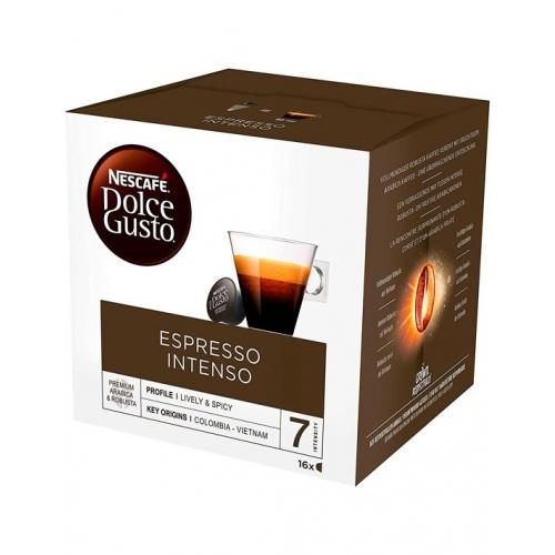 Cápsulas Café Dolce Gusto Espresso Intenso 16 Un