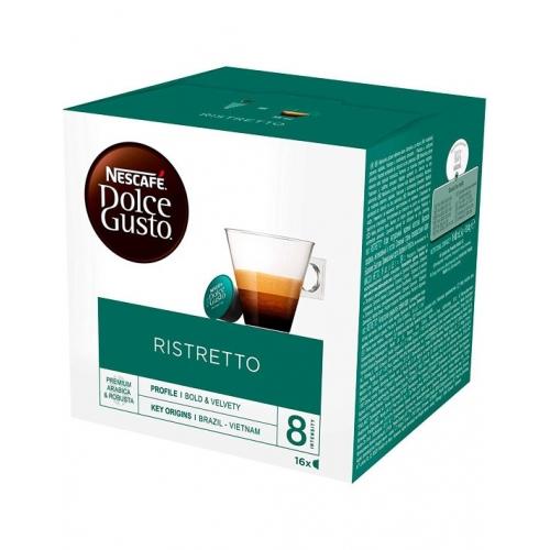 Cápsulas Café Dolce Gusto Ristretto Nescafé 16 Un