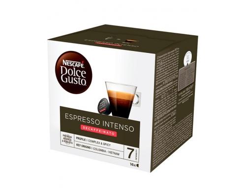 Cápsulas Café Dolce Gusto Espresso Intenso Decaffeinato 16 Un