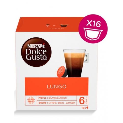 Dolce Gusto Lungo 16 Cápsulas Café