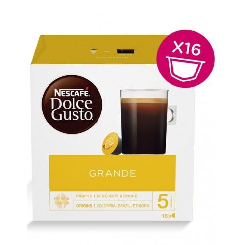 Dolce Gusto Grande 16 Cápsulas Café