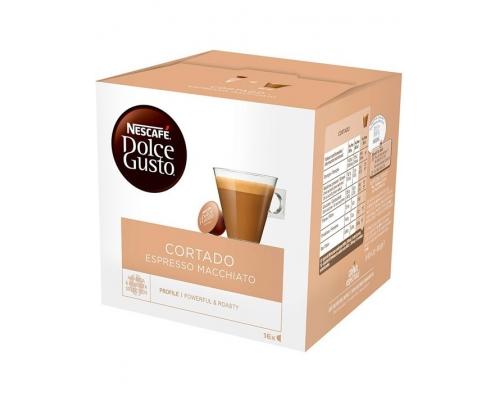 Cápsulas Cortado Nescafé Dolce Gusto 16 Un