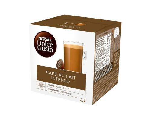 Cápsulas Café Au Lait Intenso Nescafé Dolce Gusto 16 Un