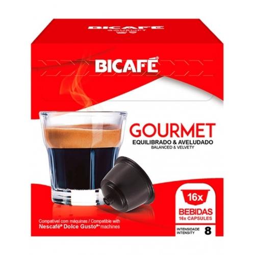 Dolce Gusto * Gourmet Bicafé 16 Cápsulas Café