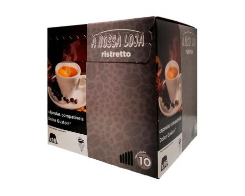 Cápsulas Café Compatibles Dolce Gusto Ristretto A Nossa Loja 16 Un