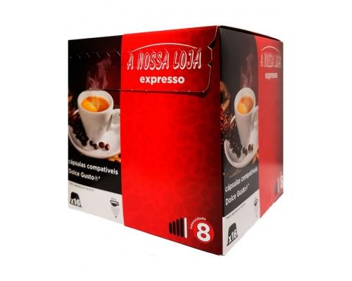 Cápsulas Café Compatíveis Dolce Gusto Expresso A Nossa Loja 16 Un