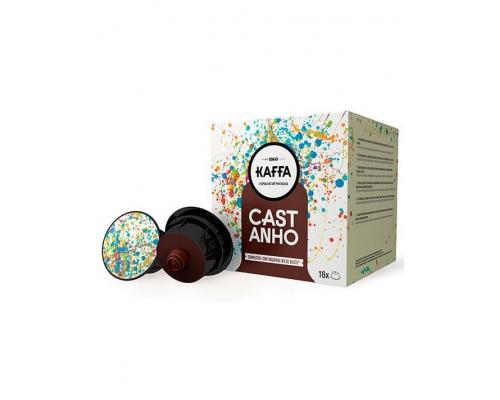 Cápsulas Kaffa Compatibles Dolce Gusto Café Castanho 16 Un