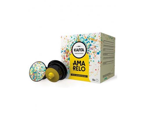Cápsulas Kaffa Compatibles Dolce Gusto Café Amarelo 16 Un