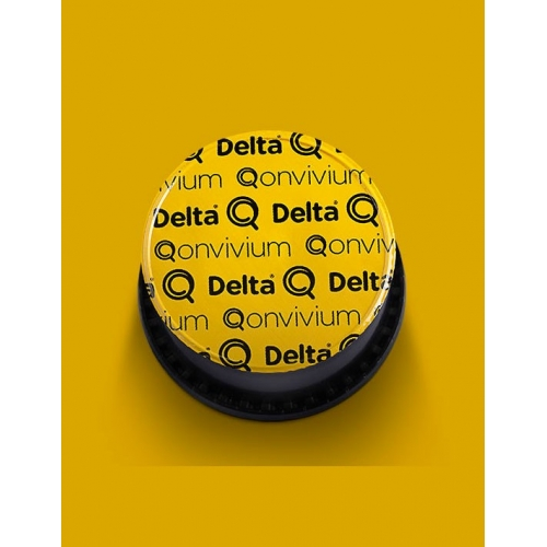 Delta Q Qonvivium 10 Cápsulas Café