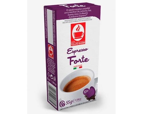 Cápsulas Compatíveis Nespresso Café Bonini Forte 10 Un