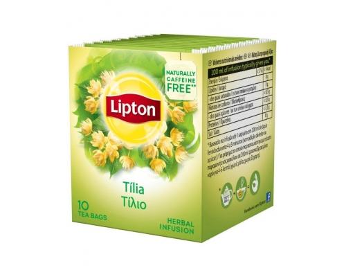 Infusão Tília Lipton 10 Un