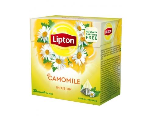 Infusão Camomila Lipton Pyramid 20 Un
