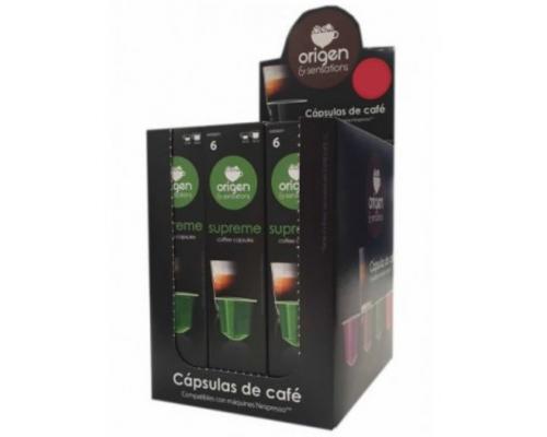 Cápsulas Compatíveis Nespresso Origen Sensations Supreme Café 5 Un