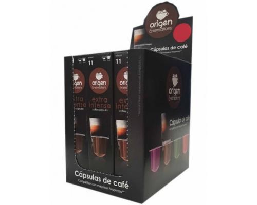 Cápsulas Compatíveis Nespresso Origen Sensations Extra Intense Café 5 Un