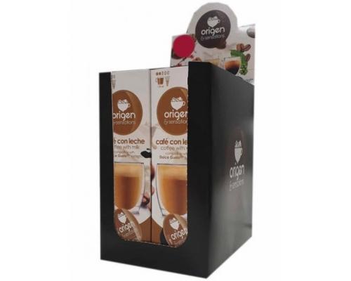 Cápsulas Para Dolce Gusto Café Com Leite Origen & Sensations 4 Un