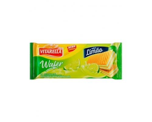 Wafers Limão Vitarella 120 Gr