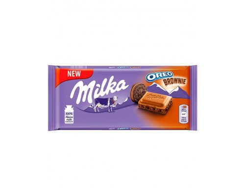Chocolate Oreo Brownie Milka 90 Gr
