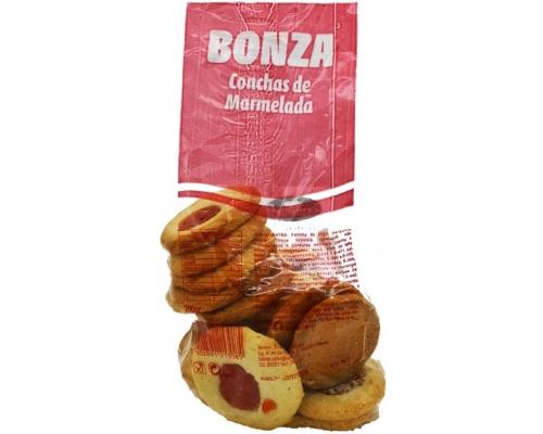 Biscoitos Conchas Marmelada Bonza 200 Gr