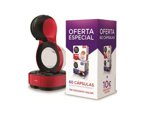 Cafetera Dolce Gusto Lumio Red...