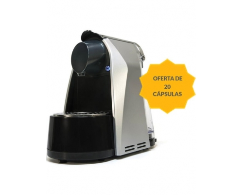 Cafetera Auto Cino Gris Kaffa +...