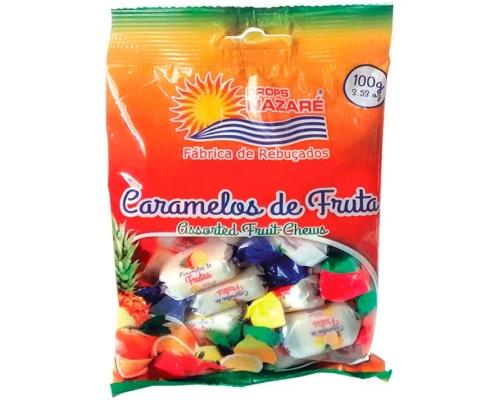 Rebuçados Caramelos Fruta Nazaré 100 Gr